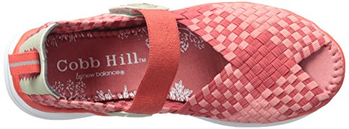 Rockport Cobb Hill Womens Wink Pescatore Sandalo Corallo / Multi
