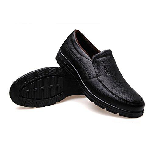 Feidaeu Hombre Slipper Schwarz Zapatos Zapatos Feidaeu Hombre 8xwqHO8TB