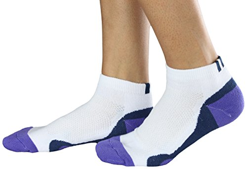 Adidas Womens 2 Pack Low Cut Tour Performance Golf Socks