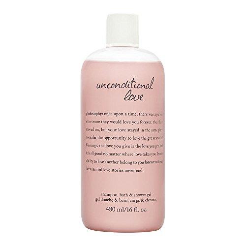 Philosophy Unconditional Love 16.0 oz Perfumed Shampoo, Bath & Shower - Shower Bath Perfumed Gel
