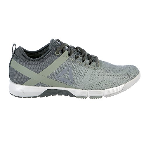 (Reebok Women's Crossfit Grace TR Track Shoe, Ironstone/Chalk/Mystic Grey/Silver Metallic, 7 M US)