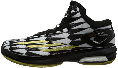 adidas Crazy Light Boost Weiß-Schwarz