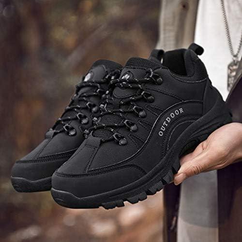 トレッキングシューズ メンズ ハイキングシューズ 登山靴 アウトドアシューズ ショートブーツ アウトドアシューズ 運動靴 防水 軽量 防滑 厚い底 大きいサイズ 24.0cm-29.5cm ウォーキングシューズ 運動靴