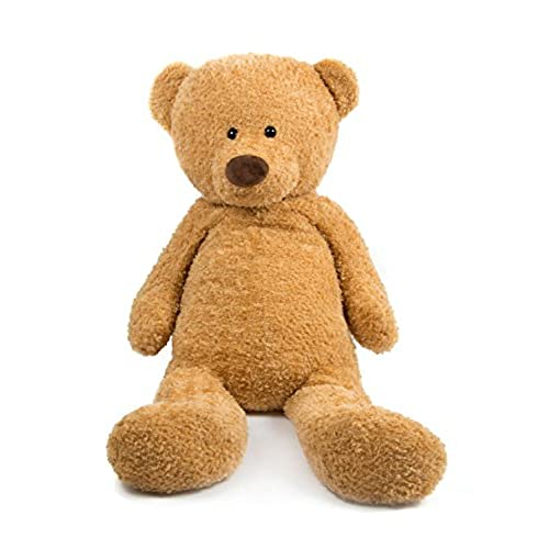 Teddy Bear 51 Inch Giant Ultra Soft stuffed Huge Stuffed Animals Light Brown by HollyHOME