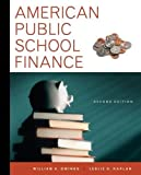 American Public School Finance 2nd Edition
