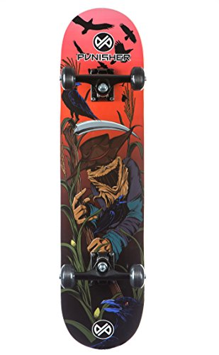 Punisher Skateboards SCARECROW Complete Skateboard with Convace Deck