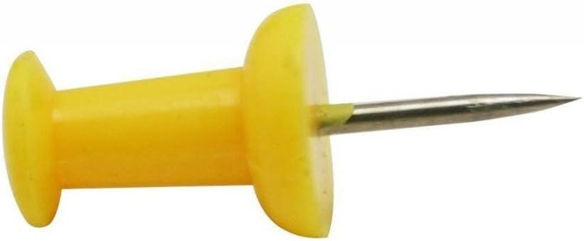 Generic Kunststoff Kopf Push Pins Farbe Rot 100/St/ück blau
