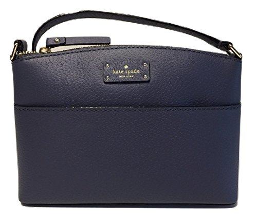 Kate Spade Grove Street Millie Crossbody Handbag WKRU4194 (Diver Blue) by Kate Spade New York