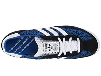adidas Originals Women's SL72 Black/White/Bluebird 9.5 B - Medium