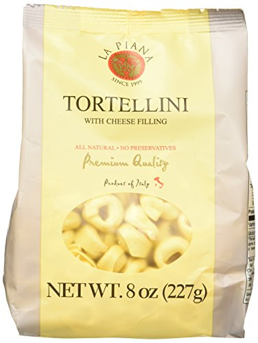 La Piana Tortellini with Cheese Filling, Half Pound, 8 Ounce