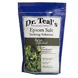 Dr. Epsom Salt Soaking Solution Relax Eucalyptus Spearmint 48 OZ (Pack of 8)