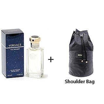 f9a6b2f61d3b45 Versace The Dreamer 50ml EDT Men Spray + Shoulder Bag Christmas Giftset:  Amazon.co.uk: Beauty
