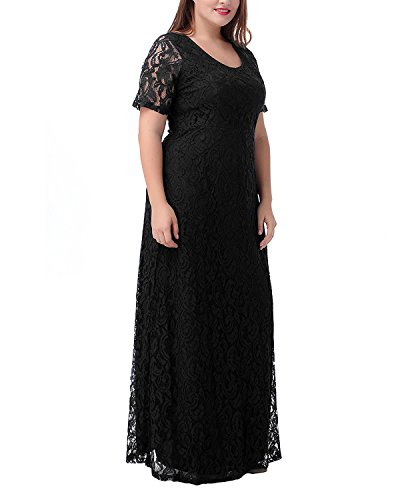 long black evening dresses size 22 - 6