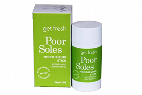 Get Fresh Poor Soles Foot Moisture Stick - Lemongrass Foot Creme