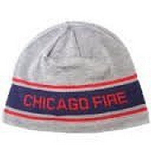 adidas MLS Officially Licensed Chicago Fire Embroidered Beanie Hat Cap Lid