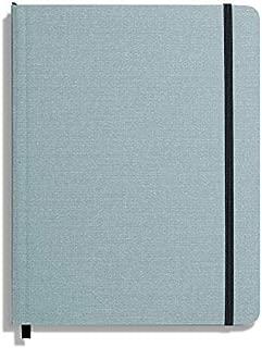 product image for Shinola Journal, Soft Linen, Ruled, Harbor Blue (7x9)