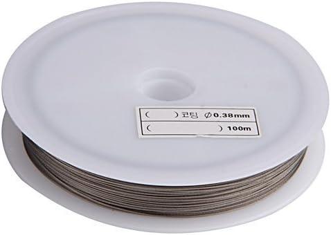 5 x Schmuckdraht Kette mit Verschluss SilberfarbenDraht Schmuckherstellung