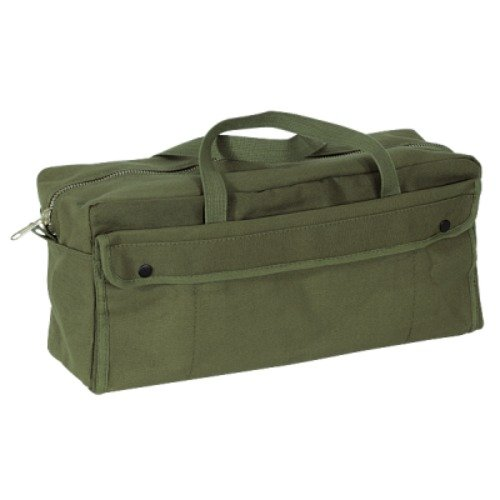 Northstar Mil Spec Tankers Tool Heavy Canvas Bag, Olive Drab