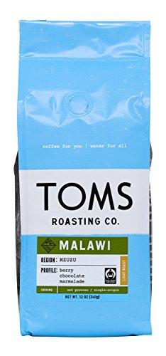 TOMS Roasting Co., Malawi Ground Coffee, 12 oz