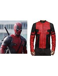 Ryan Reynolds Men's Deadpool Jacket Costume Red