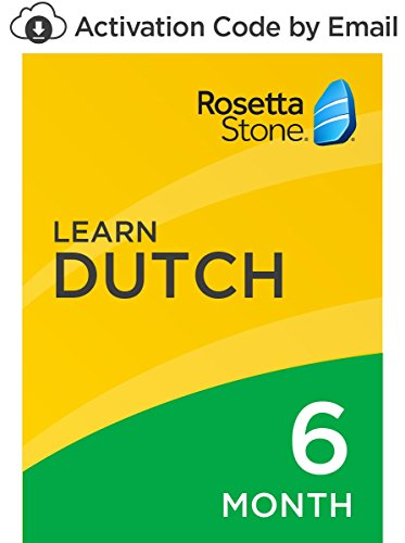 Rosetta Stone: Learn Dutch for 6 months on iOS, Android, PC, and Mac- mobile & online access [PC/Mac Online Code] by Rosetta Stone