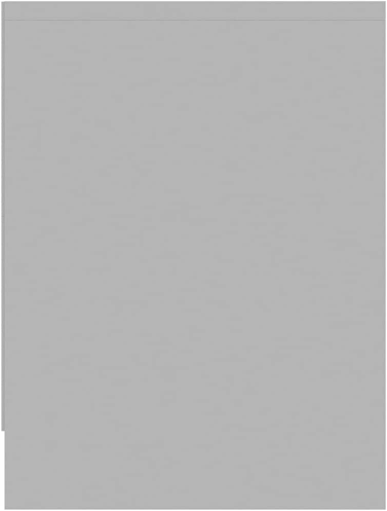 Benkeg Mesitas de Noche 2 Unidades Aglomerado Blanco 40X30X40 Cm con 2 Cajones Mesilla de Noche Mesa Auxiliar de Sal/ón Ba/úl Universal