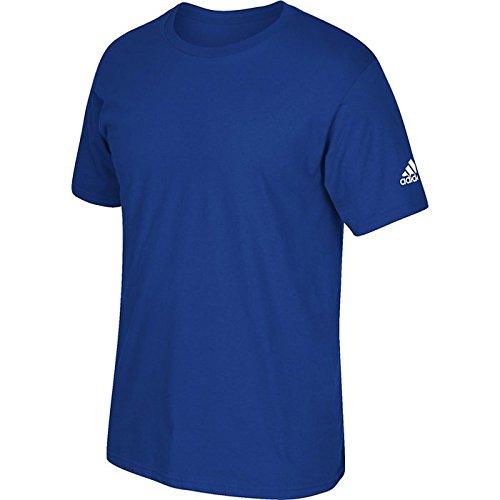 T-shirt Adidas A Manica Corta Con Logo Collegiale Royal