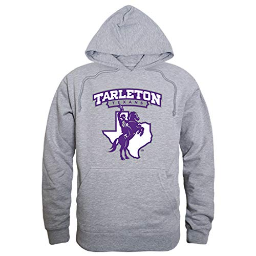 W Republic Tarleton State University NCAA Unisex The Freshman Pullover Hoodie - Medium, Heather Grey