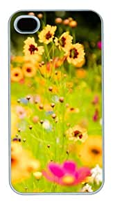 iphone 4 case on sale Vivid Flowers 2 PC White for Apple iPhone 4/4S