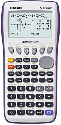 Casio fx-9750GII Graphing Calculator with icon