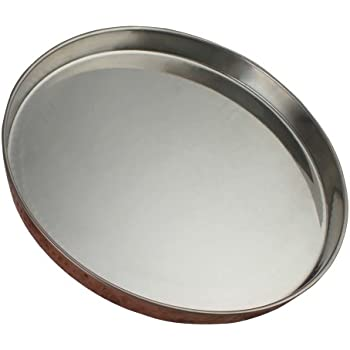 Dinner Plate Thali Tableware Dinnerware for Indian Food and Dishes 13 Inches by ShalinIndia  sc 1 st  Amazon.com & Amazon.com | Stainless Steel Round Divided Dinner Plate 4 sections ...