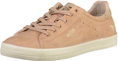 Rouge Femme Mustang Basses 1267 555 301 555 Sneakers rose n7YvRPq