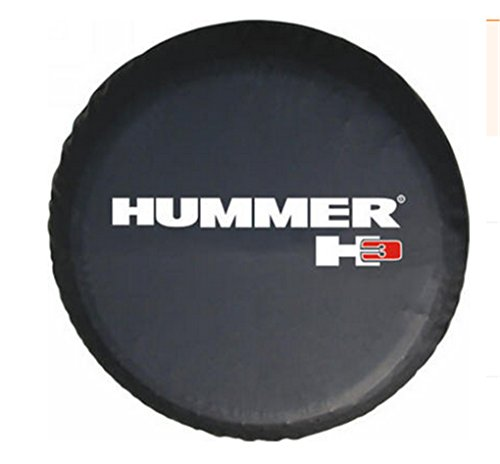 Suitable For Hummer H3 Mark The Spare Tire Cover The Custom 15 Inch PVC Spare Wheel Cover (Hummer Wheel Covers)