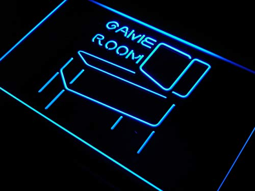ADVPRO Cartel Luminoso s130-b Game Room Pinball Display ...