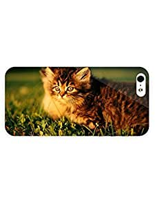 3d Full Wrap Case for iPhone 5/5s Animal Green Grass85