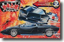 "Doyusha #14 Lamborghini Countach LP-400 ""The Circuit Wolf"" Hama No Kurohyo 1/20 Scale Model Kit"