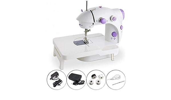 Mini máquina de coser portátil, mini máquina de coser eléctrica ...