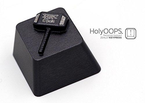 Customized Keycaps, NEWBEE Hammer of Thor Double Anodized Aluminum Alternative Keycaps for Cherry MX Switches Mechanical ()