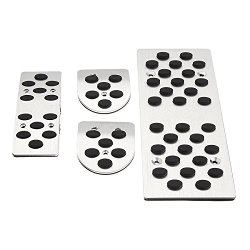 Lhd Pedal Set - CoCocina 4Pcs Aluminum Car Brake Accelerato Clutch Pedal Pad For Toyota Corolla RAV4 Y