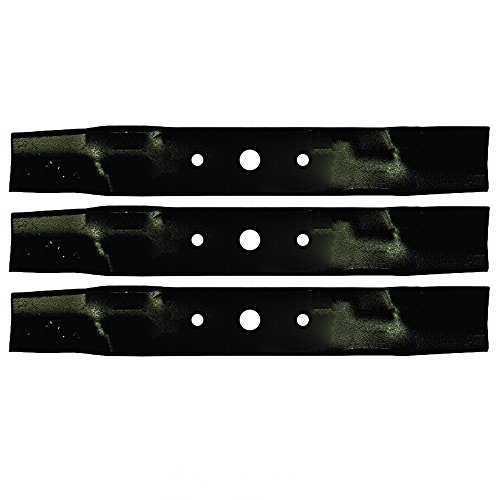 """Stens 330 619 Hi-Lift Blades for 48"""" Deck 3 Pack"""