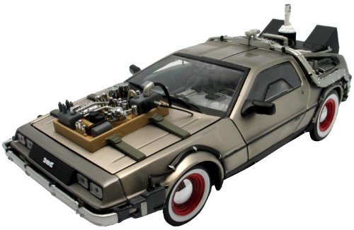 DeLorean 1:18 1982 DeLorean Back To The Future III Model Diecast Car