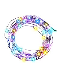 imimon Multi-Colored Light, warm String Lights for Bedroom,...