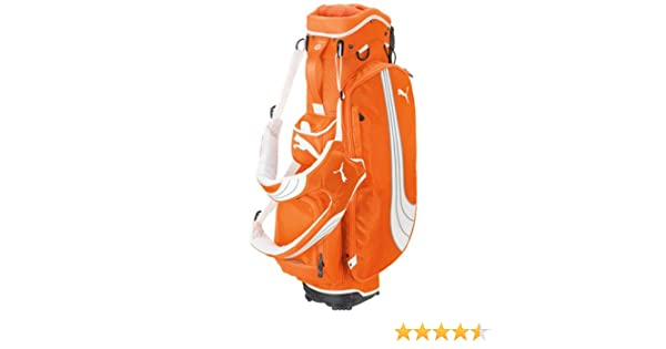 3395113b632b Amazon.com   Puma Formation Lightweight Stand Golf Bag (Orange