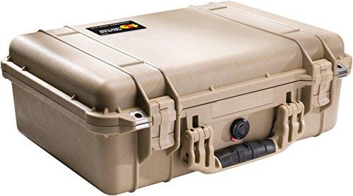 Pelican 1500 Camera Case With Foam (Desert - Tan Desert Case