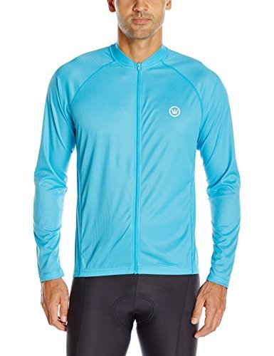 Canari Men's Optic Nova Jersey Electric Blue Small [並行輸入品]   B07K1BPKG5