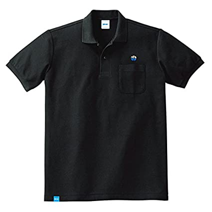 NEOGEO LABEL H GRADE POLO's BLACK (S)