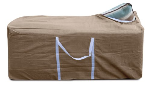 KoverRoos III 33450 Cushion Storage Bag Taupe 49-Inch Length by 19-Inch Width by 23-Inch Height by KOVERROOS