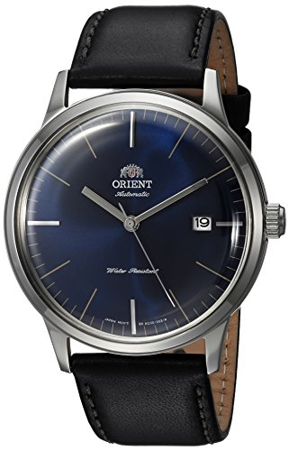 - Orient Men's FAC0000DD0 2nd Generation Bambino Version 3 Japanese Automatic Band Color:Black Watch