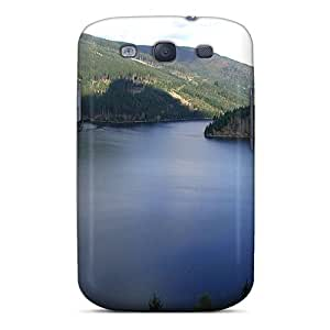 Durable Defender Case For Galaxy S3 Tpu Cover(lake-bay)