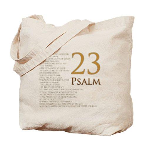 Religious Canvas Tote Bags (CafePress - PSA 23 - Natural Canvas Tote Bag, Cloth Shopping Bag)